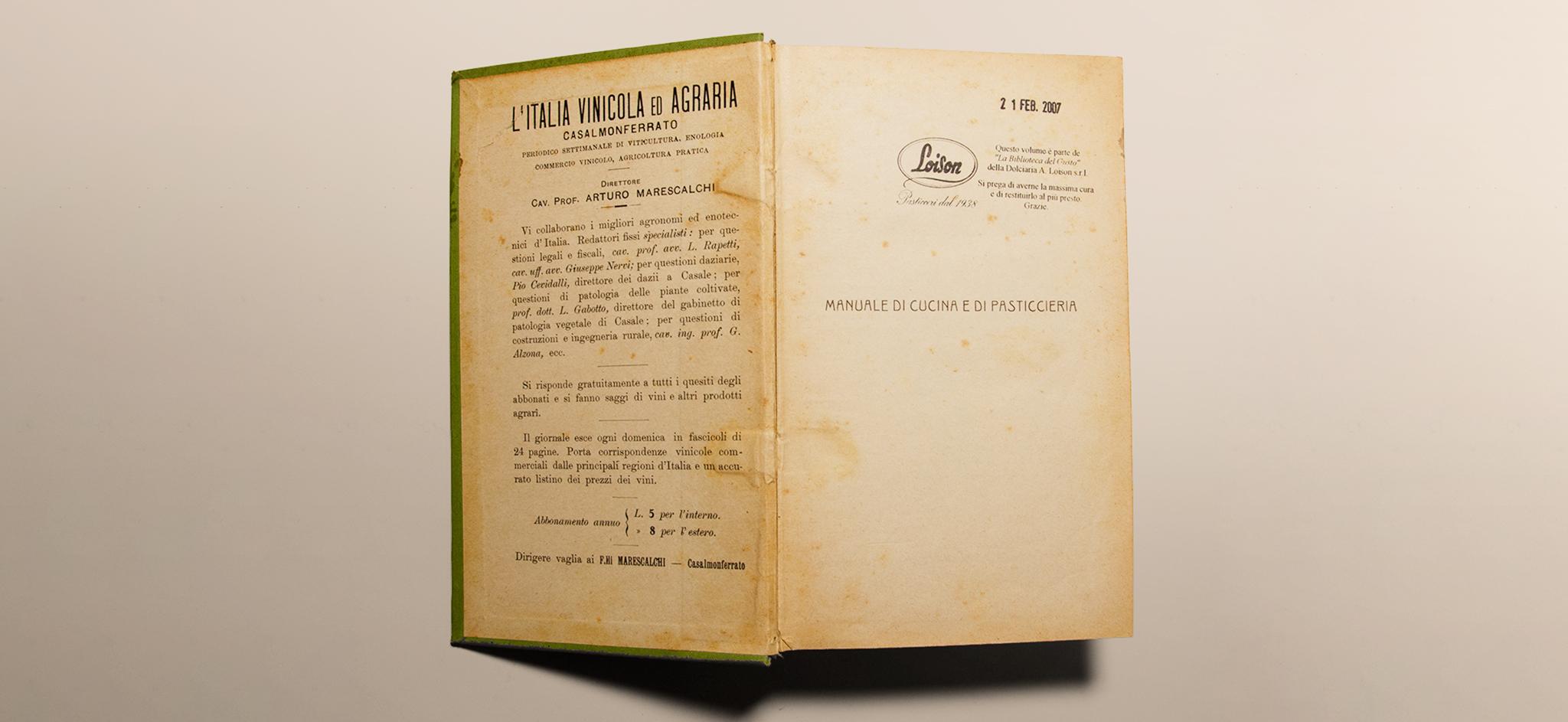 Manuale di cucina e pasticceria di Amedeo Pettini - Loison ...